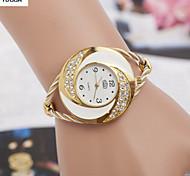 Woman'S Quartz Alloy, Switzerland Watch Fashion Eye Steel Band Watch Cool Watches Unique Watches