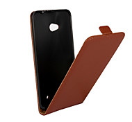 Genuine Leather Vertical Flip Magnetic Button Leather Case for Microsoft Lumia 640 (Assorted Colors)