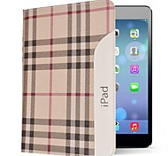 British Style Genuine Leather Case with Folding Stand iPad Air (Assorted Colors)