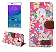 PU Leather Slim Stand Case Cover Wallet Case Classic for Samsung Galaxy Note 5 (Assorted Colors)