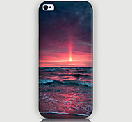 The Setting Sun Pattern Phone Back Case Cover for iPhone5C