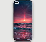 le soleil couchant motif téléphone de couverture de cas pour iphone5c