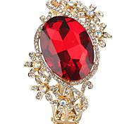 Sjeweler Lady's Latest Style Big Crystal Bracelet Bangle