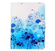 Painted Blue Dandelion Stand Tablet PC Case for Galsxy Tab A 9.7/Tab 4 10.1