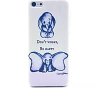 большие уши слона шаблон шт Материал телефон случае для iPhone 5с