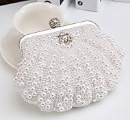Women's Delicate Hand Pearl Set Drill Evening Handbags