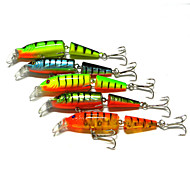 "1 pcs Hard Bait / Fishing Lures Hard Bait Brown / Green / Orange 9.61g g/1/3 oz. Ounce mm/4-1/4"" inch,Plastic Lure Fishing"