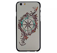 Moon And Stars  Pattern PC Phone Case For iPhone 6
