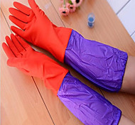 Long Dishwashing Gloves Rubber Washing Household Gloves