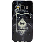 Monkey  Pattern TPU Hemming Phone Case For Galaxy A3 /A5 /A7