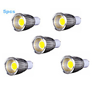 5pcs MORSEN® 7W GU10 500-550LM Support Dimmable Led Cob Spot Light Lamp Bulb