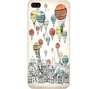 The Parachute Pattern Phone Back Case Cover for iPhone5C