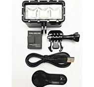 Accessories For GoPro,Spot Light LED Mount/Holder LED, For-Action Camera,Gopro Hero1 Gopro Hero 2 Gopro Hero 3 Gopro Hero 3+ Gopro Hero 5