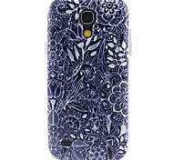 modello di fiori materiale TPU soft phone per mini i9190 Samsung Galaxy S4