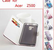 Schlagleder magnetische Schutzhülle für Acer Liquid z500 (verschiedene Farben)