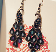 New Arrival Fashional Retro Peacock Earrings