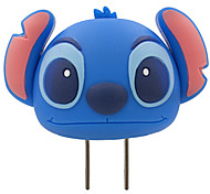 Disney  Stitch USB Ports Phone Charger For Any USB Device