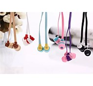 BS-748 Classic 1.0 Headphone 3.5mm In Ear 100cm for iPhone/Samsung/Huawei/Millet/Red Rice/HTC (Assorted Color)