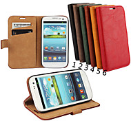 Special Design High-Grade Genuine Leather Mobile Phone Holster for Samsung Galaxy S3 I9300