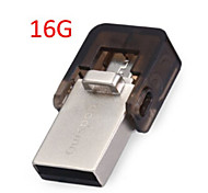 op ourspop - 3002 16gb ultra mini suporte portátil bonito drive flash memory stick para smart phone / tablet