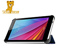"""timido orso ™ il caso del basamento della copertura del cuoio per Huawei t1 t1-701u 7 """"tablet"""