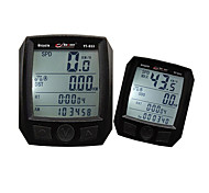 Mountain bike Computerino da bici TME - Tempo trascorso Nero PVC