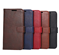 Crazy Horse Leather Case with Card Slots and Holder for One M9