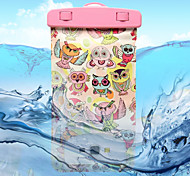 Decorative Patterns Owl Pattern Transparent Waterproof Touchscreen for Samsung Galaxy Note 4 / Note 3 / Note 2