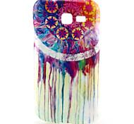 coco Fun® bunten Blumenmuster weicher TPU Fall für Samsung-Galaxie junge 2 / e7 / Tasche 2 / Trend lite