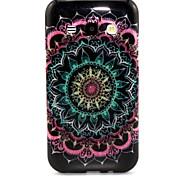 Datura Flowers Pattern Glitter TPU Cell Phone Soft Shell For Galaxy J1/ J5 /J7 /G530 /G360