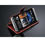 Unique design wallet style case for HTC one m7