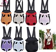 divertimento di borsa da compagnia pets®dog davanti al petto zaino cinque fori di maglia del supporto portante esterna tote bag sling cane