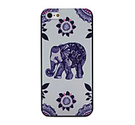 elephant pattern pc Telefonkasten für iphone 5/5 s