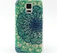 Для Кейс для  Samsung Galaxy С узором Кейс для Задняя крышка Кейс для Цветы TPU SamsungS6 edge / S6 / S5 Mini / S5 / S4 Mini / S4 / S3