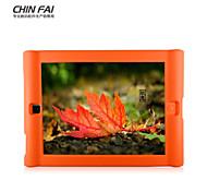 chinfai funda protectora de silicona color puro para ipad2 / 3/4