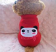 Dog Sweaters - XS / S / M / L - Winter - Red Mixed Material