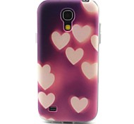 cuore modello materiale TPU soft phone per mini i9190 Samsung Galaxy S4