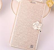 Для Samsung Galaxy Note7 Бумажник для карт / Стразы / со стендом / Флип Кейс для Чехол Кейс для Сияние и блеск Искусственная кожа Samsung