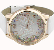 Women's Watch Butterfly Pattern PU Band Cool Watches Unique Watches Fashion Watch