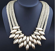 MPL Fashion hand woven cloth all-match Necklace