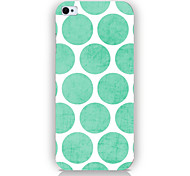Green Dot Pattern Phone Back Case Cover for iPhone5C
