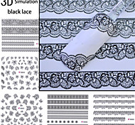 Dedo/Dedo del Pie - Caricatura/Encantador - Calcomanías de Uñas 3D - Otros - 1 - 6*5*1 - ( cm )