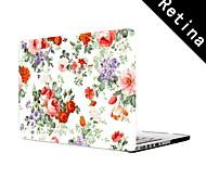 """colorido diseño de la flor funda protectora de cuerpo completo de 13 """"/ 15"""", MacBook Pro con pantalla de retina"""