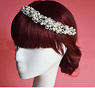 Flashion Charming Wedding Party Bride Flower Handmake White Headband Hair Accessories