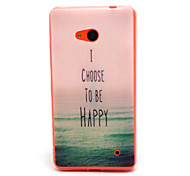 Sea  Pattern TPU Phone Case for Nokia Microsoft Lumia 640