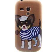 modello cucciolo materiale TPU soft phone per mini i8190 galassia S3