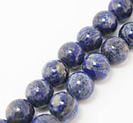 Beadia 39Cm/Str (Approx 33Pcs) Natural Blue Lapis Lazuli Beads 12mm Round Stone Loose Beads DIY Accessories