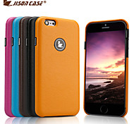 Ultra-thin Jisoncase Microfiber Handmade Case for Apple iPhone 6 (Assorted Colors)
