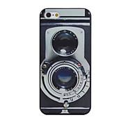 retro camera patroon pc telefoon Case voor iPhone 5 / 5s