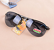 Men 's Foldable Oval Sunglasses